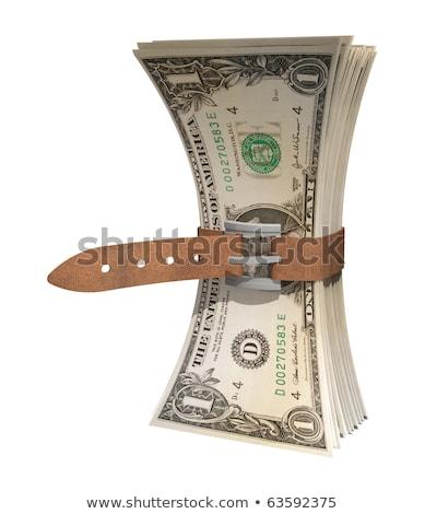 apertado · orçamento · 3D · imagem · dólar - foto stock © aremafoto