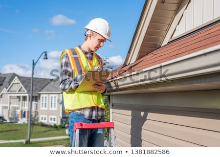 Foto d'archivio: Roof Inspector