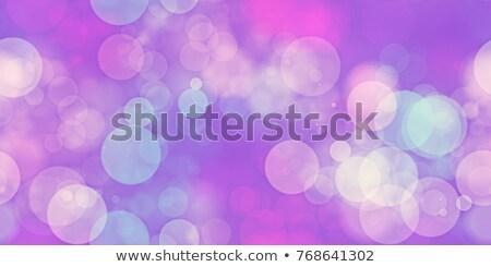 аннотация bokeh расплывчатый свет Сток-фото © ArenaCreative
