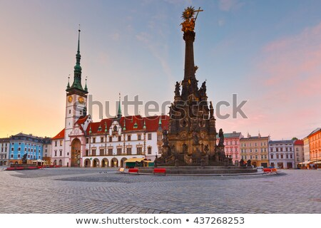 The Holy Trinity Column in Olomouc (Czech Republic) Stock photo © frank11