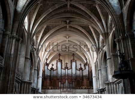 Keresztény kő kupola Bordeau belső szent Stock fotó © smithore
