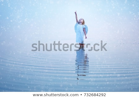 Stock photo: angel in water