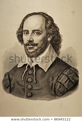 William Shakespeare Hamlet Stock photo © claudiodivizia