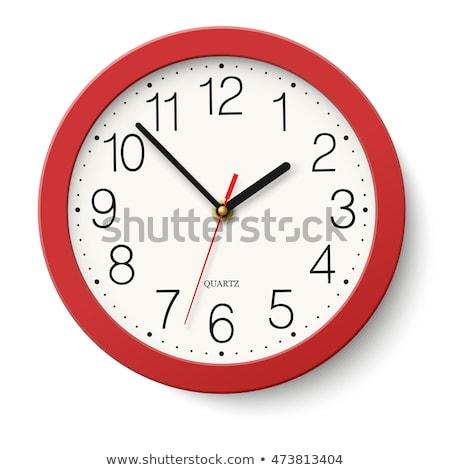 muur · klok · bedrijfslogo · kantoor · geld · horloge - stockfoto © experimental
