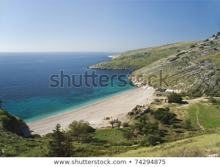 Beach albania ionian coast europe holidays sunny Stock photo © travelphotography