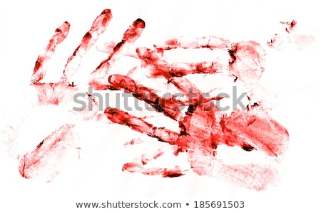 Bloody handprints Stock photo © Stocksnapper