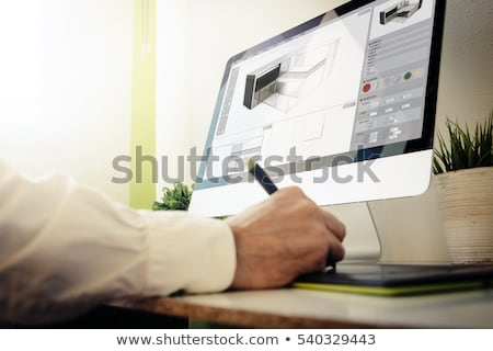 architect and 3d model stock photo © photography33