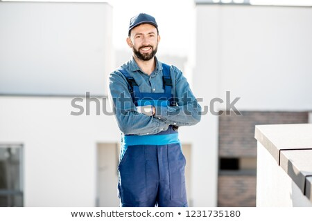 Portrait of a roofer Stock photo © photography33