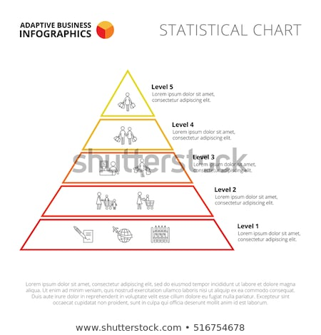 Business Hierarchy Pyramid Stock photo © Lightsource