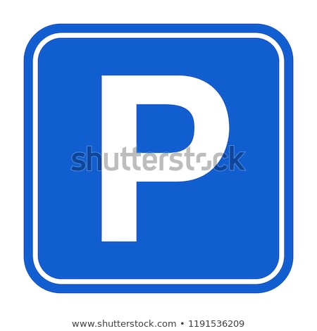 illustration of cars parking sign stock photo © shutswis