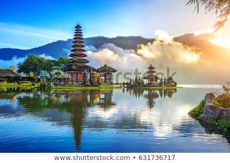 Tapınak bali Endonezya su doğa dağ Stok fotoğraf © Witthaya