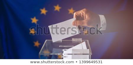 Ballot box Europe Stock photo © Ustofre9