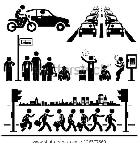 世界 渋滞 ボール 道路 アスファルト いくつかの ストックフォト © idesign