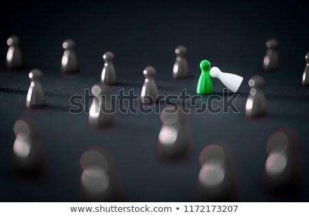 hamis · igazság · választás · citromsárga · irányítás · felirat - stock fotó © tashatuvango