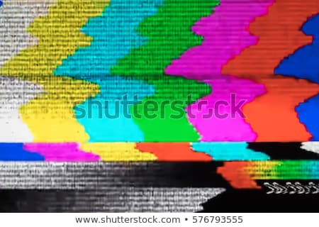TV Static - White Noise Stock photo © axstokes