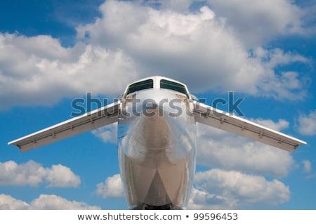 supersonic aircraft  Tupolev TU-144 Stock photo © meinzahn