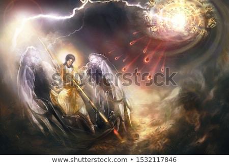 像 先頭 天使 城 ローマ ストックフォト © alessandro0770