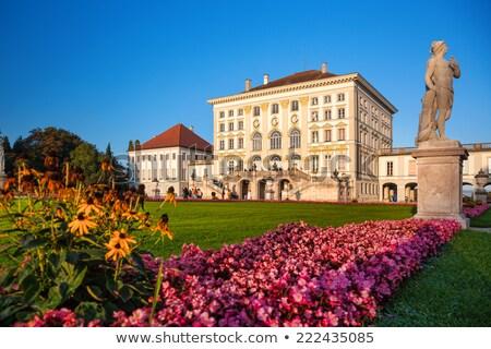 nymphenburg castle in munchen stock photo © faabi
