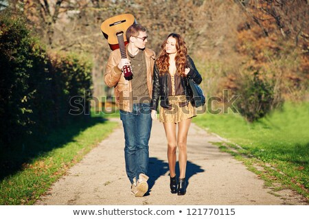 Lovers in october Stock photo © DNF-Style