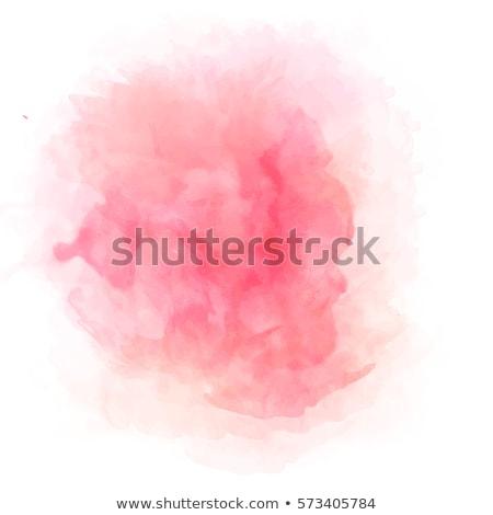 ピンク · アクリル · 塗料 · ベクトル · サークル · 紙 - ストックフォト © adamson