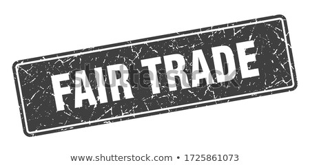Fair Trade-stamp Stock photo © carmen2011