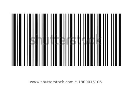 Streepjescode namaak nummers papier achtergrond teken Stockfoto © gladiolus