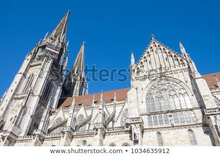 Regensburg medieval town Germany Stock photo © backyardproductions