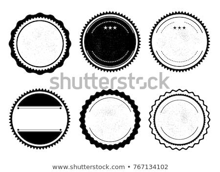 Romantische badges ontwerp frame kaart patroon Stockfoto © tanya_ivanchuk