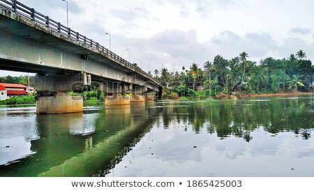 Bridge in backwater Stock photo © Givaga