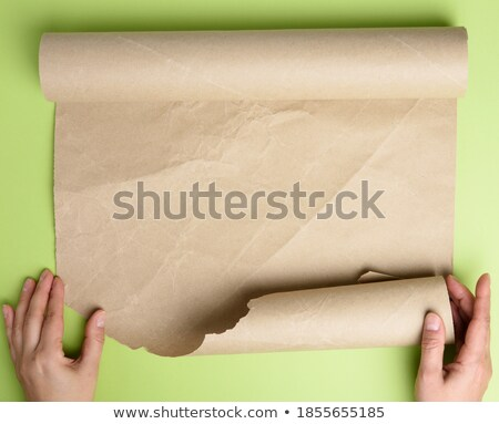 cook hands twisted roll Stock photo © OleksandrO