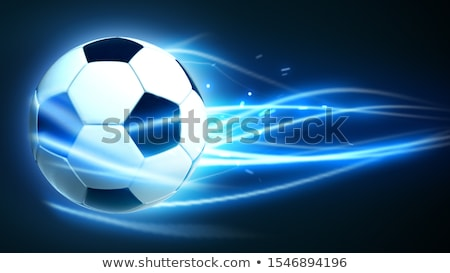 magic soccer ball stock photo © -baks-