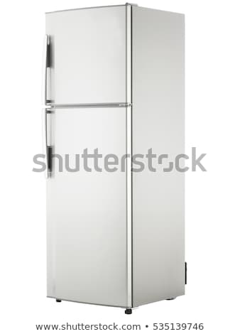 freezer isolated on white Stock photo © ozaiachin