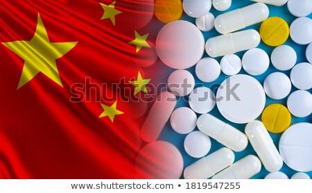 bayrak · Tayvan · muhteşem · görüntü - stok fotoğraf © tang90246