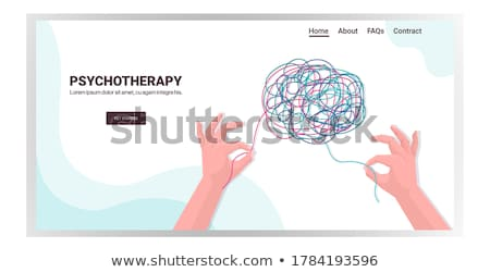 síndrome · diagnóstico · médico · impresso · turva · texto - foto stock © lightsource