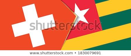 Suiza Togo banderas rompecabezas aislado blanco Foto stock © Istanbul2009