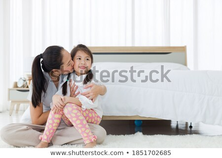 girl embraces the mother Stock photo © Paha_L