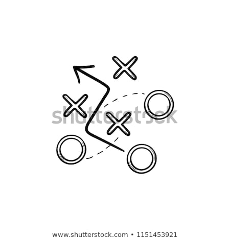 Doodle Plan icon. Stock photo © pakete