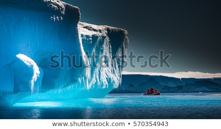 mavi · okyanus · deniz · kar · soğuk - stok fotoğraf © maxmitzu