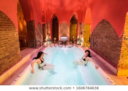 woman in turkish bath stock photo © adrenalina