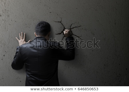 hitting a wall stock photo © lightsource