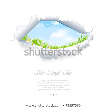 Accessibility Torn Paper Concept Stock photo © ivelin