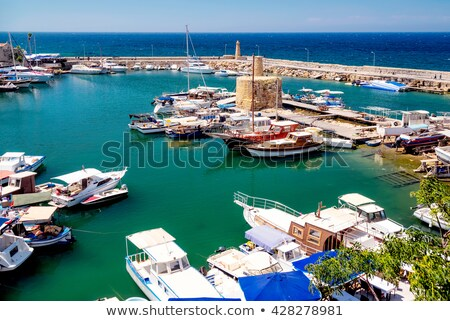 Kyrenia Harbour, high angle view. Cyprus Stock photo © Kirill_M