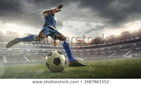 futballista · rúg · labda · férfi · sport · szín - stock fotó © pressmaster