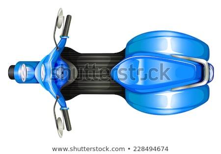 örnek beyaz spor arka plan trafik Stok fotoğraf © bluering