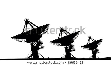 üç arka plan toprak uzay uydu grafik Stok fotoğraf © bluering