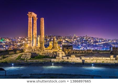rock · moskee · Jeruzalem · koepel · blauwe · hemel · stad - stockfoto © zurijeta