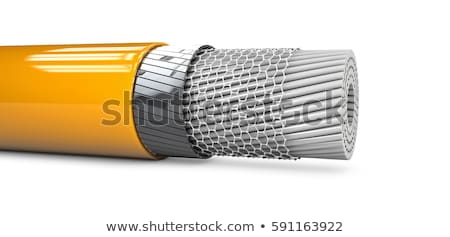 3D absztrakt nano cső struktúra számítógép Stock fotó © tussik