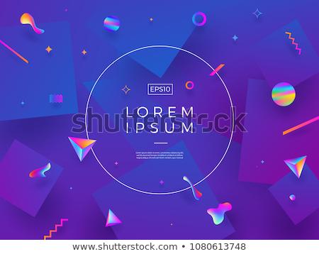 multicolore · elementi · design · tecnologia · web · colore - foto d'archivio © ssuaphoto