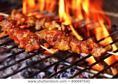 プレート 肉 写真 ぼかし スペイン語 写真 ストックフォト © monkey_business