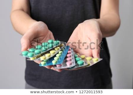различный · таблетки · капсулы · наркотики · медицина · здравоохранения - Сток-фото © mady70